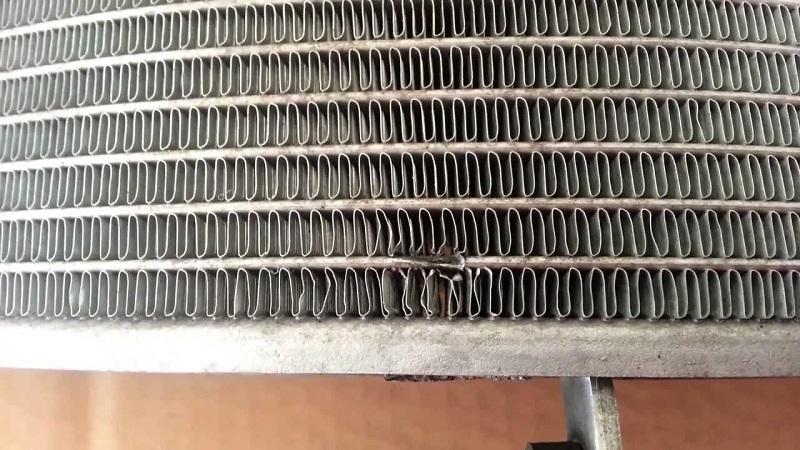 leak in the radiator