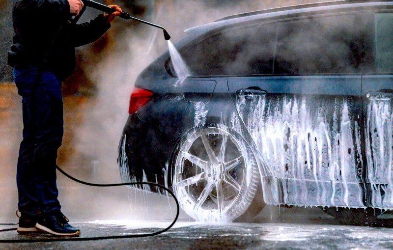 clean the car